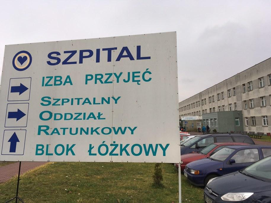 Szpital w Starachowicach (zdjęcie ilustracyjne) /Michał Dukaczewski /RMF FM
