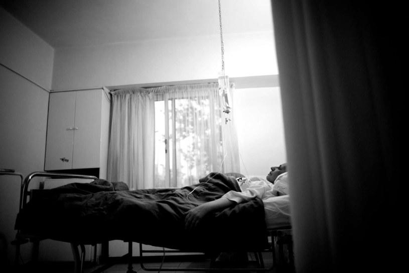 Szpital w Teheranie /BEHROUZ MEHRI /AFP