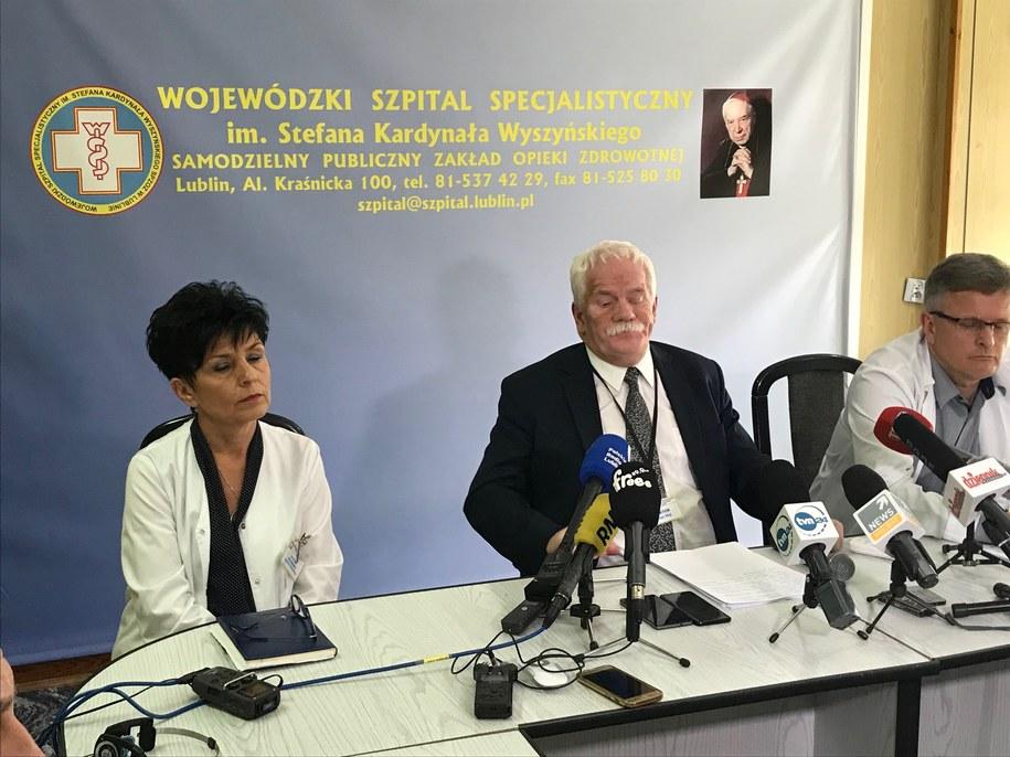 Szpital Wyszyńskiego jest sparaliżowany /Krzysztof Kot /Krzysztof Kot, RMF FM