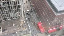 Sztokholm: Ciężarówka wjechała w ludzi. Panika w mieście