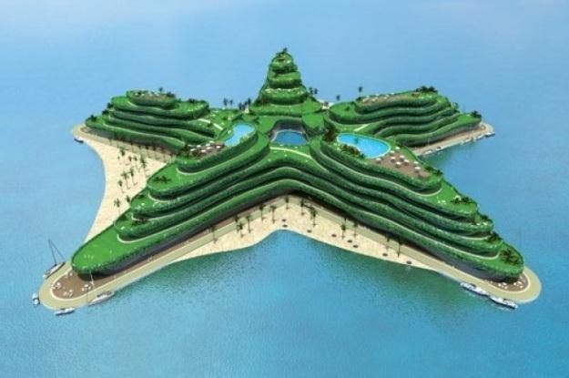 Sztuczne wyspy Malediwów będą niezatapialne /Internet