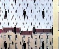 Sztuka belgijska: René Magritte, Spadanie, 1953 /Encyklopedia Internautica