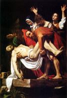 Sztuka włoska, Caravaggio, Złożenie do grobu, 1602-04 /Encyklopedia Internautica