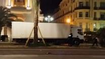 Szturm policjantów na ciężarówkę terrorysty
