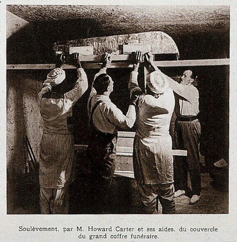 Sztylet jest jednym z najciekawszych znalezisk towarzyszących odkryciu grobu Tutanchamona /East News