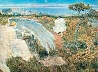 Szwajcarska sztuka, Giovanni Segantini, Miłość i źródła życia, 1896 /Encyklopedia Internautica