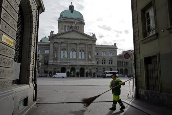 Szwajcarski Parlament w Bernie /AFP