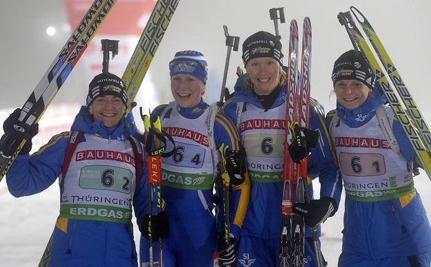 Szwedki wygrały sztafetę w Oberhofie /AFP