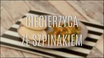 Szybka potrawka: ciecierzyca ze szpinakiem