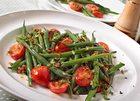Szybka sałatka z fasolki szparagowej