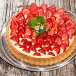 Szybka tarta z truskawkami
