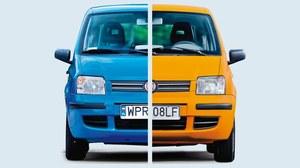 Szybki sposób na zmianę koloru auta - guma zamiast lakieru