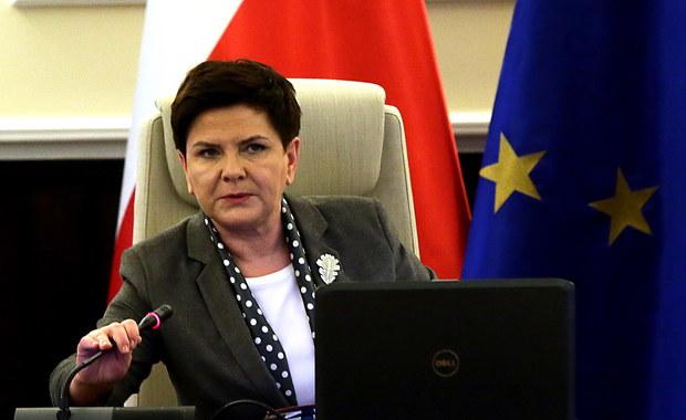 Szydło i May: Gwarancja praw obywateli UE na Wyspach - możliwie szybko