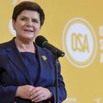 Szydło: Wierzę, że prezydenckie projekty ustaw o KRS i SN zakończą reformę sądownictwa