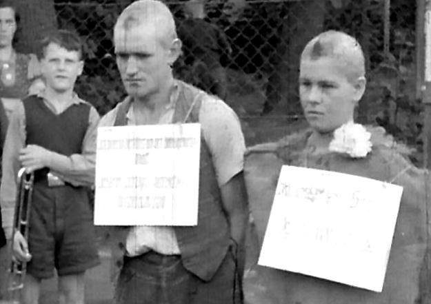 Szykany wobec Polki Bronisławy i Niemca Gerharda - kolejnego przypadku miłości w III Rzeszy /Odkrywca