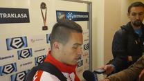 Szymon Drewniak po meczu z Sandecją 1-1 (wideo)