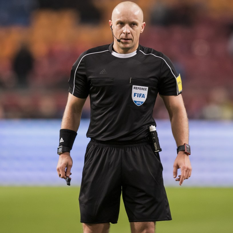 Szymon Marciniak /Voetbal International /East News