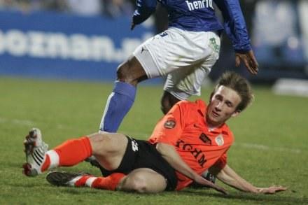 Szymon Pawłowski strzelil gola ale Zagłębie odpadło z dalszej rywalizacji/fot.Sport/Flash /Agencja Przegląd Sportowy