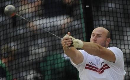 Szymon Ziółkowski zdobył w Berlinie srebrny medal /AFP