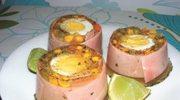 Szynka z jajkiem w galarecie