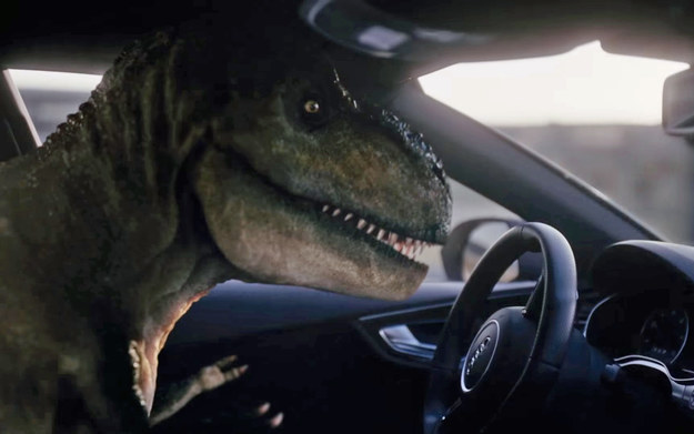 T-Rex w Audi RS7 Piloted Driving /