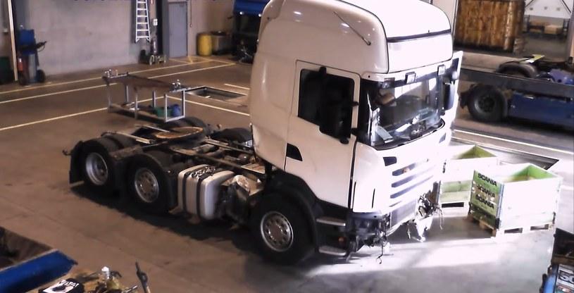 Ta ciężarówka wkrótce przestanie istnieć /