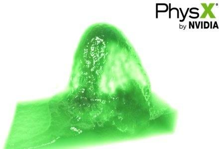 Ta dziwnie prezentująca sie materia ma pokazywać graficzne możliwości Fermi /materiały prasowe