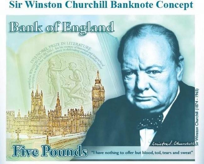 Ta ma wyglądać pierwszy brytyjski plastikowy banknot /BANK OF ENGLAND /PAP/EPA