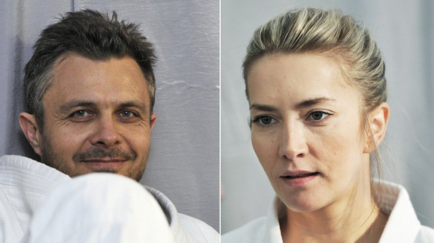 """Ta para aktorów dobrze znana jest widzom z serialu TVP2 """"Na dobre i na złe"""", gdzie wcielają się w zakochanych w sobie lekarzy. Tym razem artyści rozwiązywać będą kryminalne zagadki w """"Na krawędzi 2"""", którego akcja rozgrywać się będzie dwa lata po zakończeniu śledztwa z pierwszej serii. /Niemiec /AKPA"""