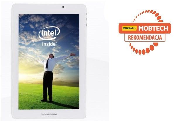 Tablet Modecom FreeTAB 9000 IPS IC za jakość wykonania oraz za jednostkę  Intel Atom Z2580 otrzymuje rekomendację serwisu Mobtech /INTERIA.PL/informacje prasowe