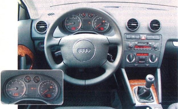 Tablica przyrządów Audi jest mało emocjonująca, za to jej funkcjonalność zasługuje na pochwalę. /Motor