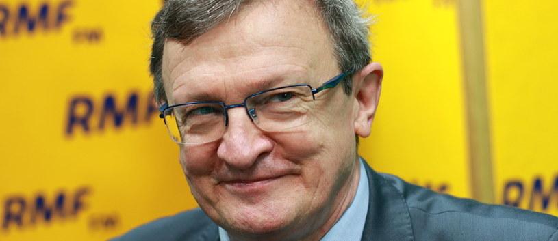 Tadeusz Cymański był gościem RMF FM /Kamił Młodawski /RMF
