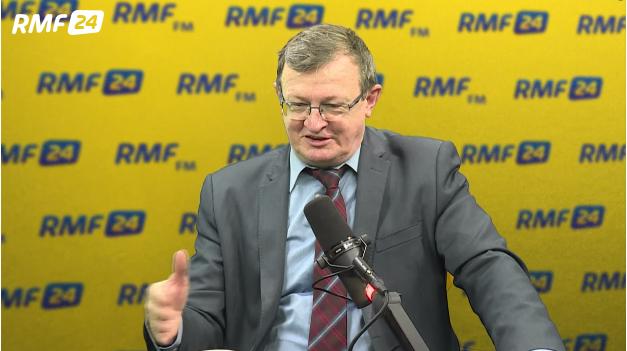 Tadeusz Cymański był gościem Roberta Mazurka /RMF