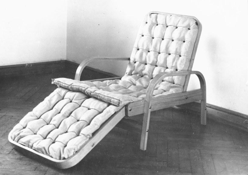 Tadeusz Kasprzycki, Fotel-leżanka, 1949 rok, dzięki uprzejmości Instytutu Wzornictwa Przemysłowego /materiały prasowe