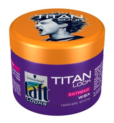 Taft Looks Titan Look Extreme - wosk /materiały prasowe