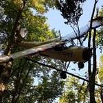 Tajemnicza katastrofa awionetki w Bieszczadach. Maszyna służyła do przemytu ludzi lub narkotyków?