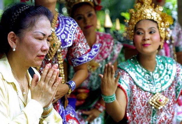 Tajlandia nie ma zamiaru porzucać tradycyjnych wierzeń w zjawiska paranormalne /AFP