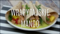 Tajskie wrapy z mango
