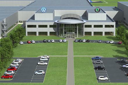 Tak będzie wyglądała fabryka w Kałudze / kliknij /INTERIA.PL