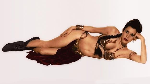 Tak Carrie Fisher wyglądała ponad 35 lat temu... /materiały prasowe
