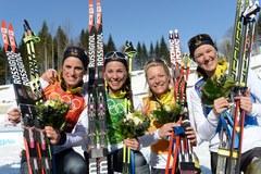 Tak cieszą się medalistki!