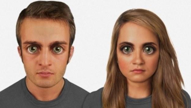 Tak człowiek będzie wyglądał za 100 000 lat (Fot. Nickolay Lamm) /materiały prasowe