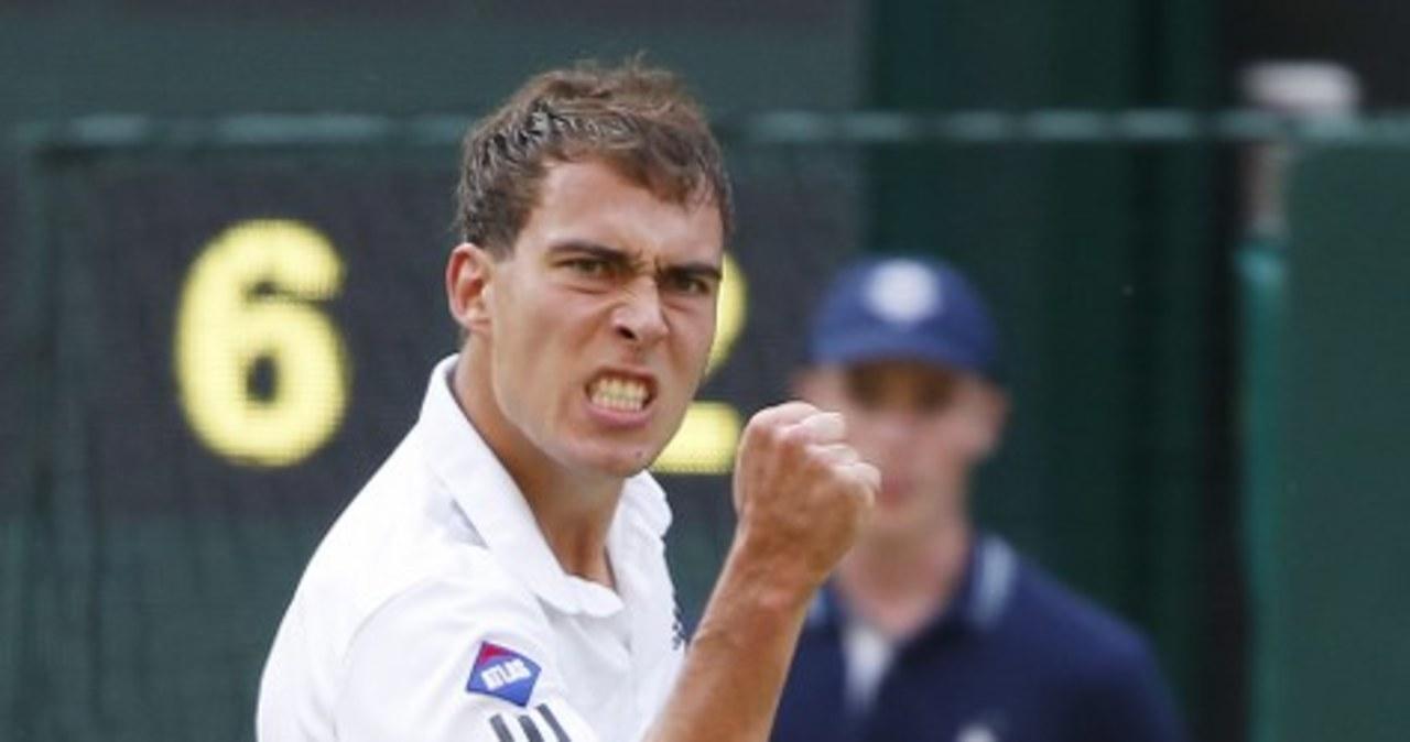 Tak Janowicz walczył w półfinale Wimbledonu!