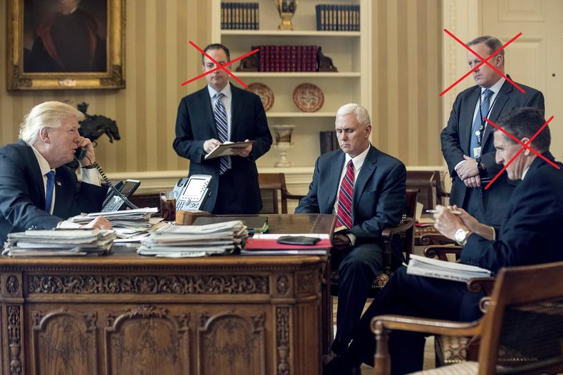 Tak kruszeje najbliższe otoczenie Donalda Trumpa; oprac. Interia /AP Photo/Andrew Harnik /East News