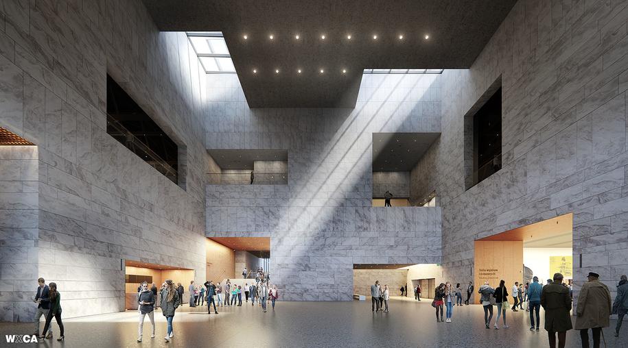 Tak ma wyglądać hol główny Muzeum Historii Polski /materiały prasowe /