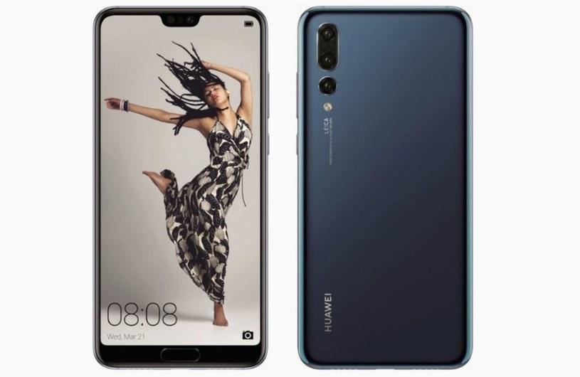 Tak ma wyglądać Huawei P20 /OnLeaks /Twitter