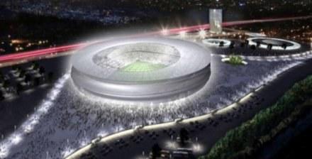 Tak ma wyglądać nowy stadion na wrocławskich Maślicach. /Informacja prasowa