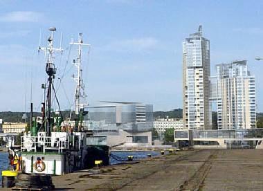 Tak miałaby wyglądać nowa perspektywa Gdyni /RMF