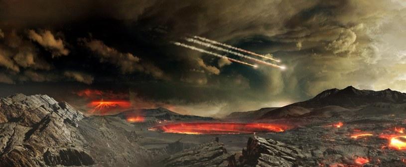 Tak mogła wyglądać wczesna Ziemia /NASA