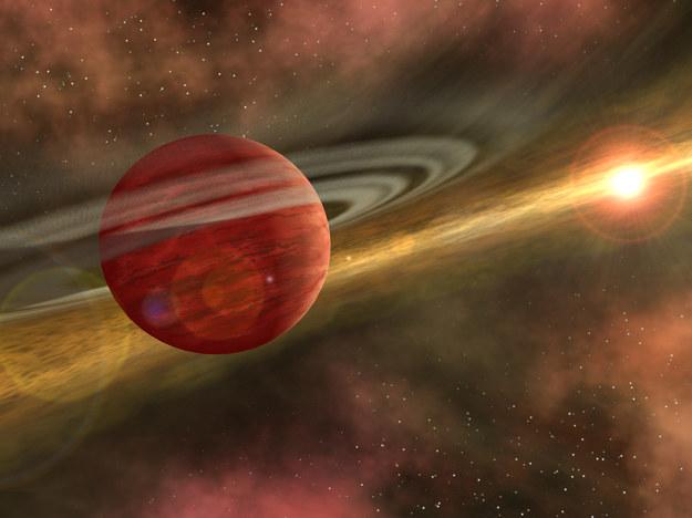 Tak może wyglądać HD 106906 b /NASA
